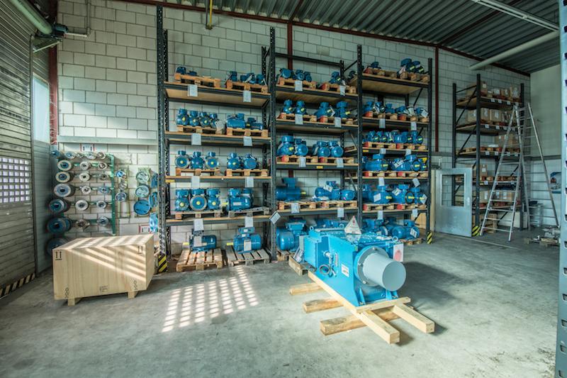 Elektromotor Pool - Lagerbestand