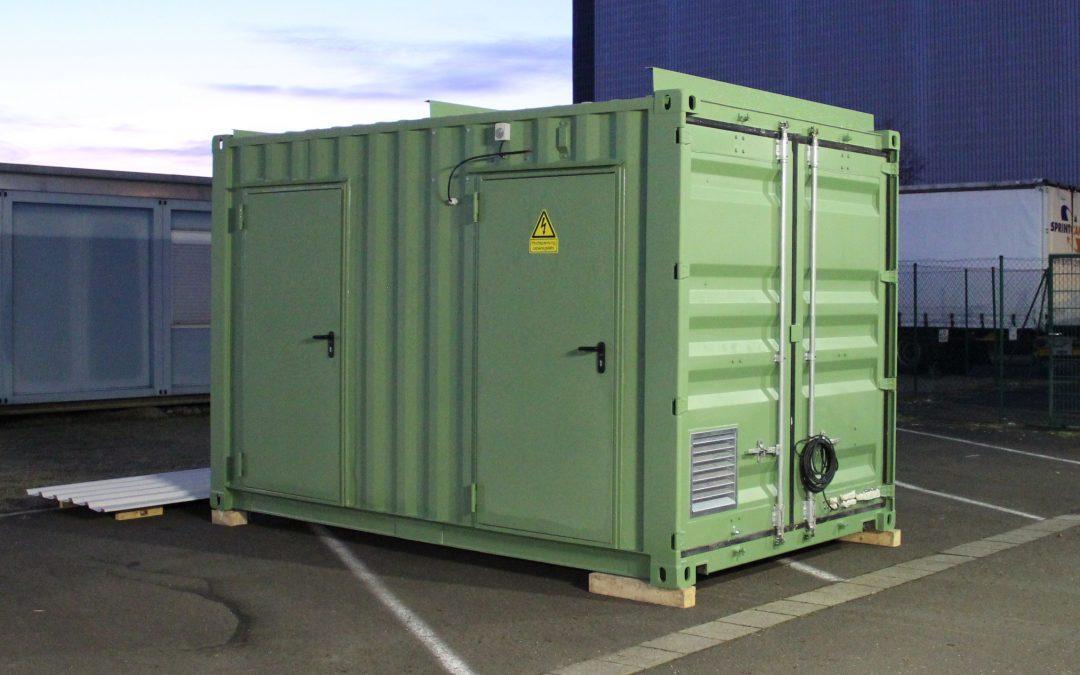 Projekt: Schwimmender Energiecontainer
