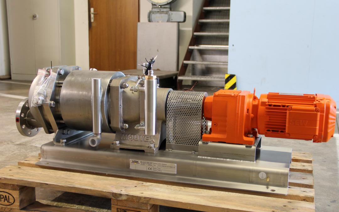 Ringkolbenpumpe mit Getriebe - VSK Technik Kübler GmbH