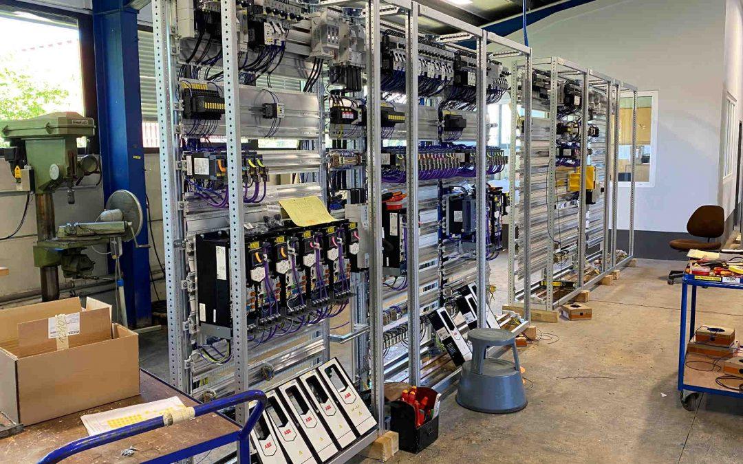 Umbau mehrerer Schaltgerüste für eine Produktionsanlage